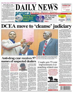 DCEA MOVE TO CLEANSE JUDICIARY