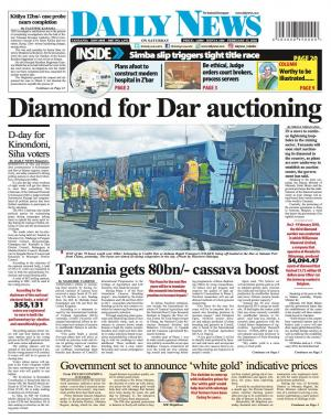 DIAMOND FOR DAR AUCTIONING