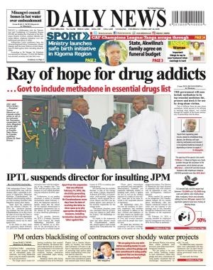 RAY OF HOPE FOR DRUG ADDICTS