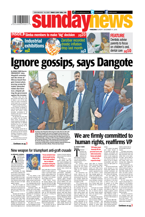 IGNORE GOSSIPS, SAYS DANGOTE