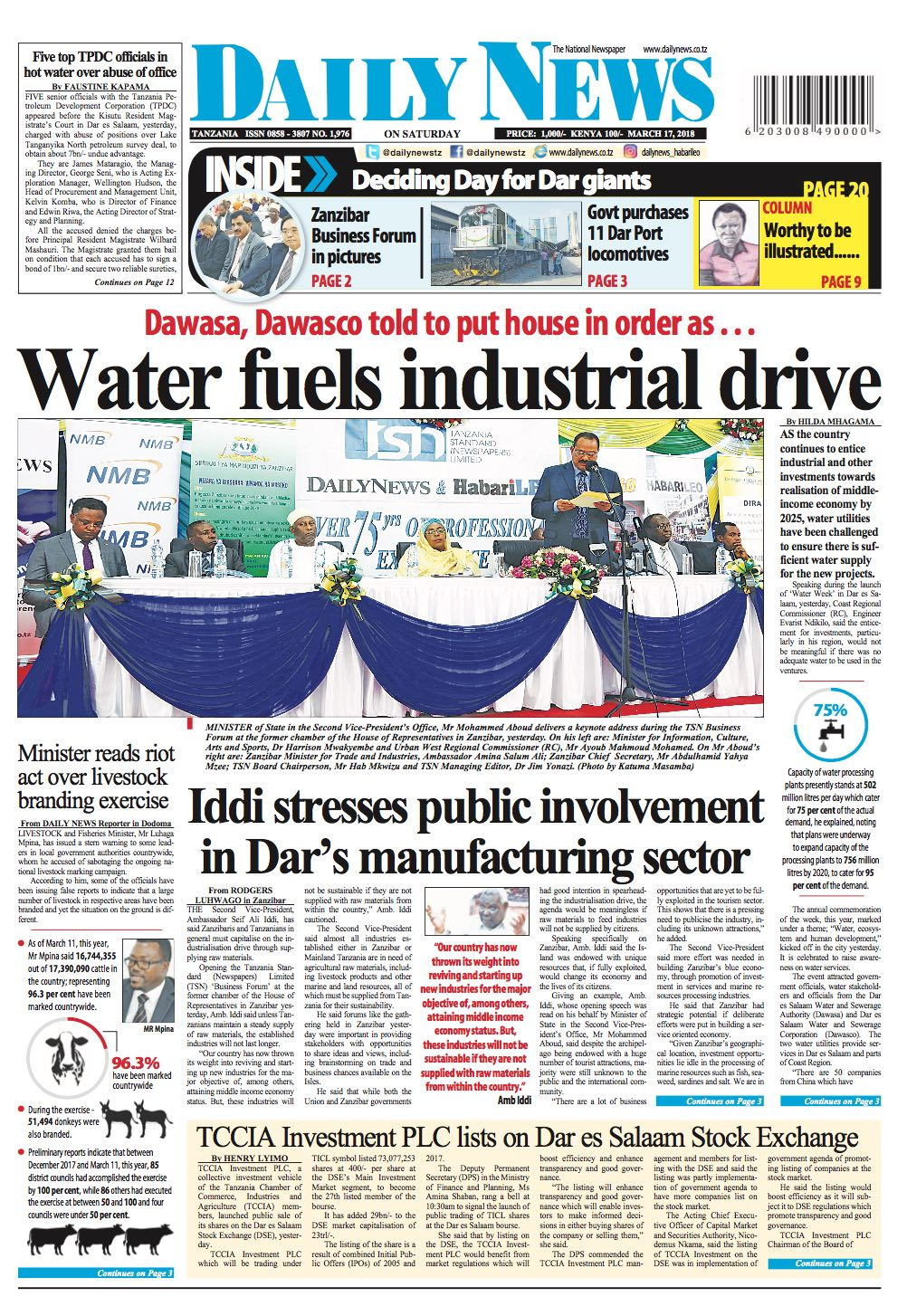 WATER FUELS INDUSTRIAL DRIVE