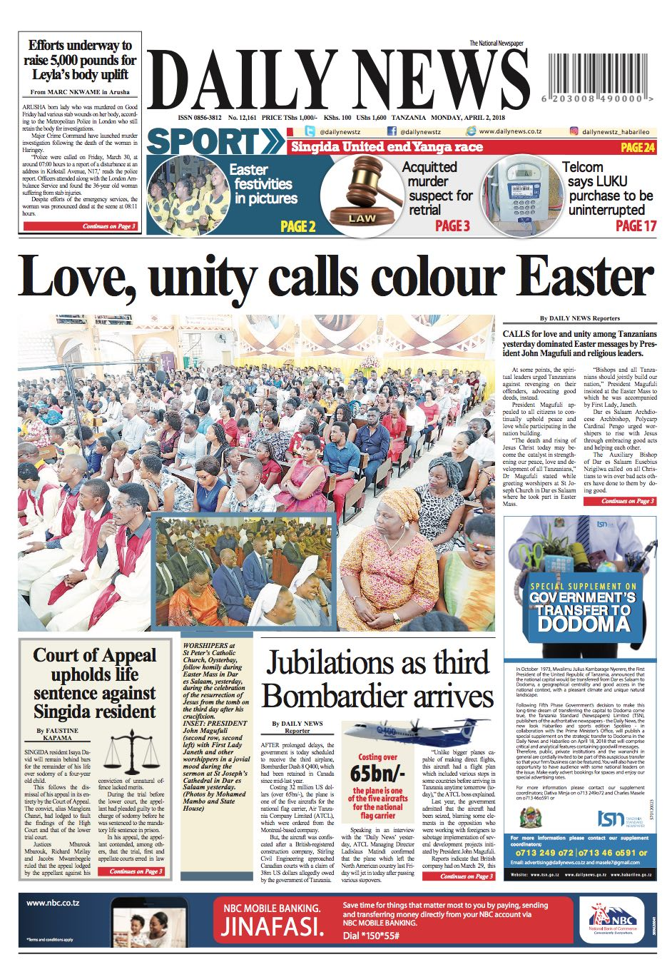 LOVE  UNITY CALLS COLOUR EASTER