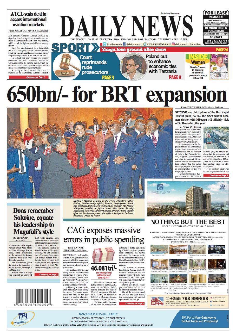650BN FOR BRT EXPANSION